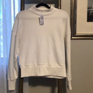 NWT American Eagle MOCK Sweatshirt slightly crop